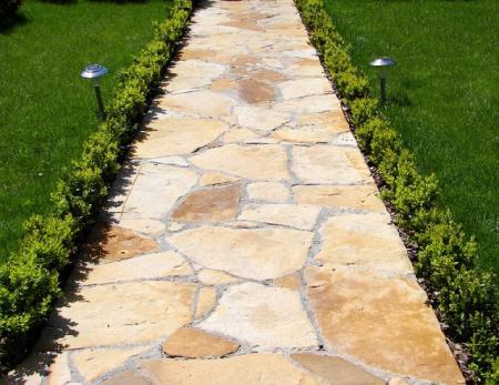 Из чего сделать садовую дорожку с