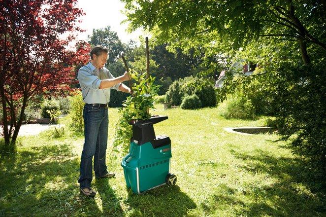 Садовый измельчитель веток